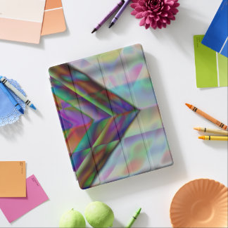 Professional simple lightweight pattern design art iPad cover