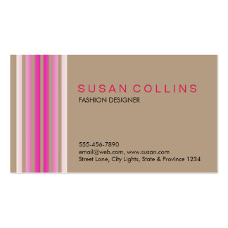 Professional Simple Plain Elegant Modern Double-Sided Standard Business Cards (Pack Of 100)