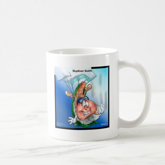 Professional Skydiver Sushi Gifts Cards Tees Etc Coffee