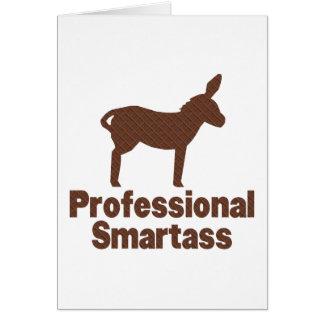 Professional Smartass Card