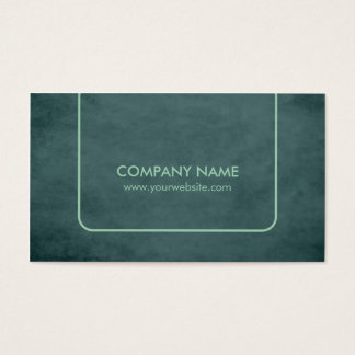 Professional Textured Green Consultant Business Card