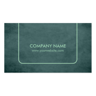 Professional Textured Green Consultant Pack Of Standard Business Cards