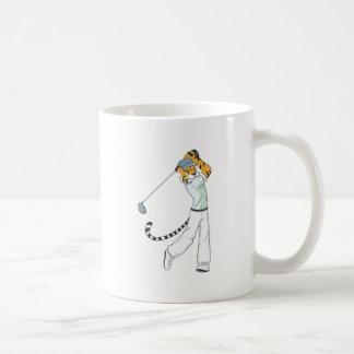 Professional Tiger Golfer Mug