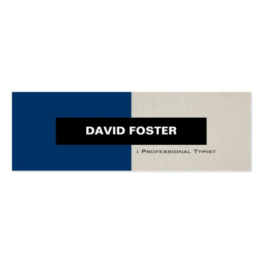Create your own freelance writer business cards professional typist simple elegant stylish business card colourmoves