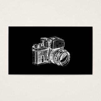 Professional Vintage Photography Business Card