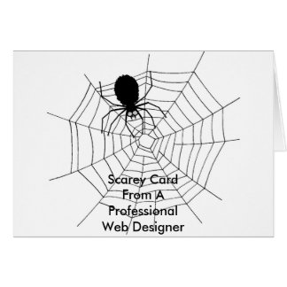 Professional Web Designer! - Greeting Card