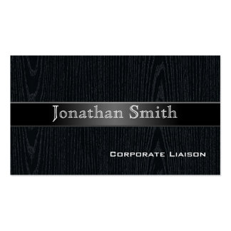 Professional Wood Grain Business Cards