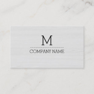 Wood grain business cards zazzle uk professional wood grain monogram 5 business card reheart Image collections