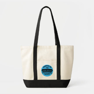 Professionally trained to make sarcastic comments impulse tote bag