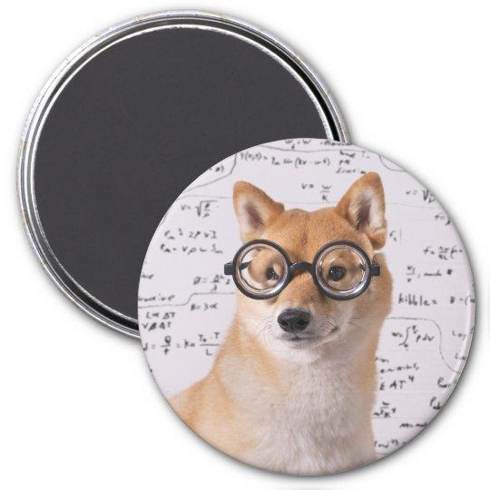Professor Barkley 3 Inch Round Magnet