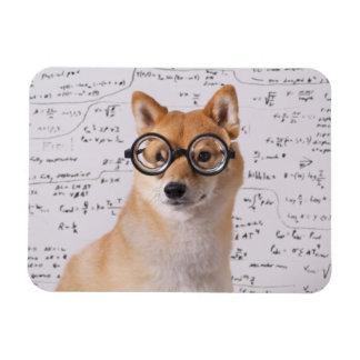 "Professor Barkley 4""x3"" Flexible Photo Magnet"