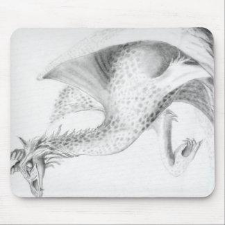 Professor Dragon Mouse Pad