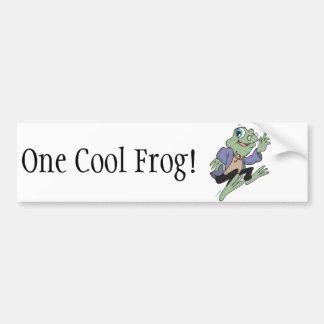 Professor Frog Bumper Sticker