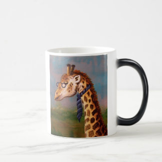 Professor Giraffe Morphing Mug