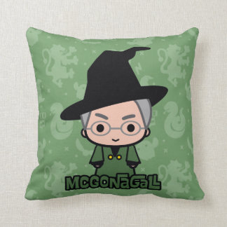 Professor McGonagall Cartoon Character Art Cushion
