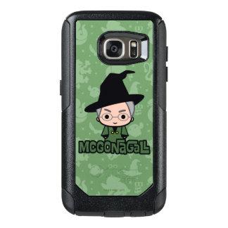 Professor McGonagall Cartoon Character Art OtterBox Samsung Galaxy S7 Case