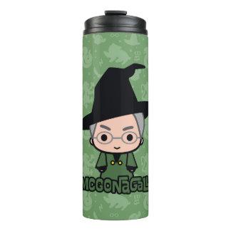 Professor McGonagall Cartoon Character Art Thermal Tumbler