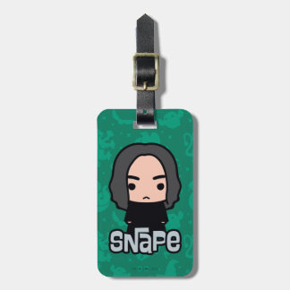 Professor Snape Cartoon Character Art Luggage Tag
