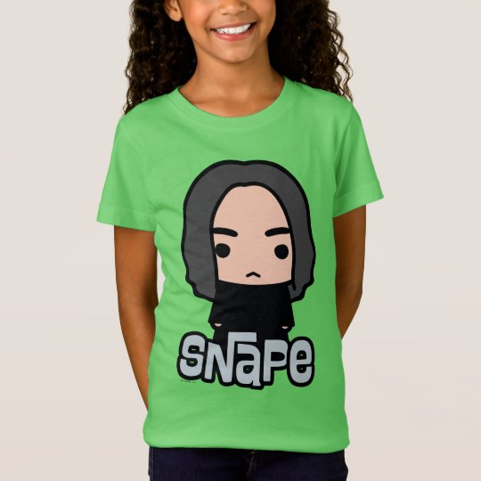 Professor Snape Cartoon Character Art T-Shirt