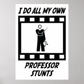 Professor Stunts Poster