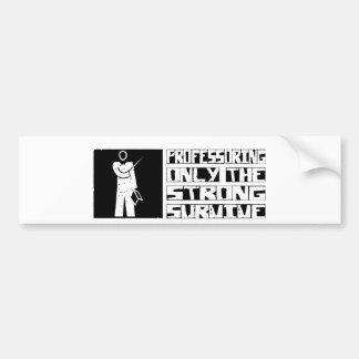 Professor Survive Bumper Sticker
