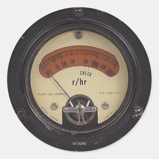 Professor Temple's Raytheometer Sticker