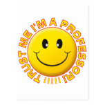 Professor Trust Me Smile Postcards