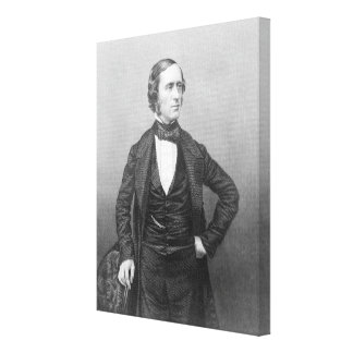 Professor William Sterndale Bennett Canvas Print