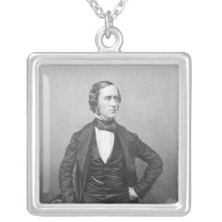 Professor William Sterndale Bennett Silver Plated Necklace