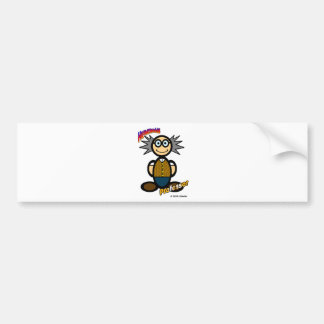 Professor (with logos) bumper sticker