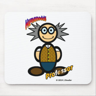 Professor (with logos) mouse mat