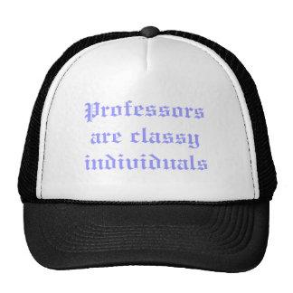 Professors are classy individuals cap
