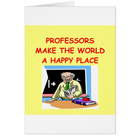 professors card