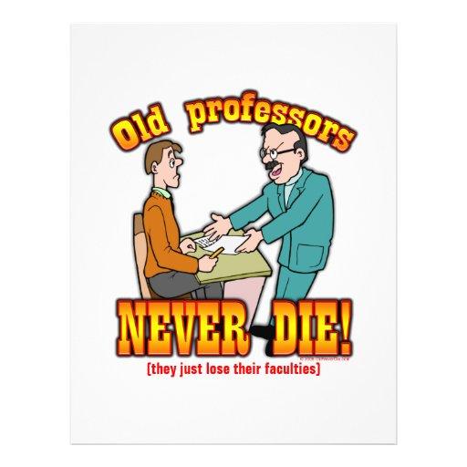 Professors Full Color Flyer