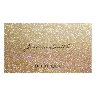 Proffesional glamorous elegant glittery Double-Sided standard business cards (Pack of 100)