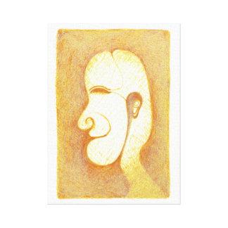 Profile 1 canvas print