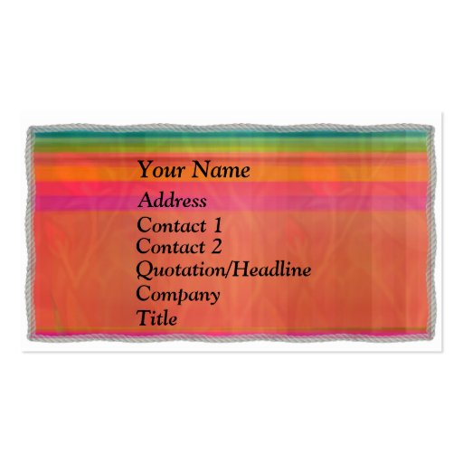 Profile Business Card3 Pack Of Standard Business Cards