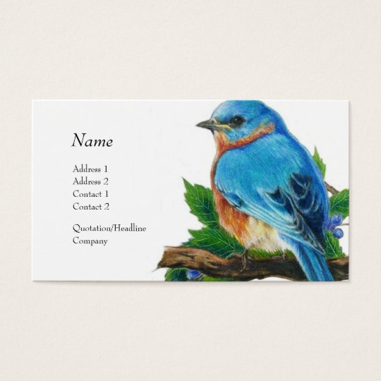 Profile Card - Bluebird