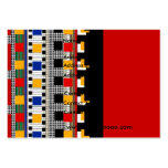 Profile Card Business Mexican Pattern - Customised