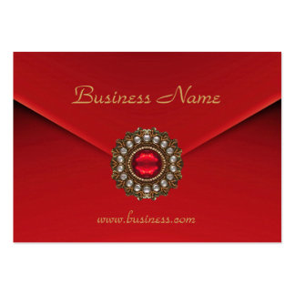 Profile Card Business Red Look Image Pack Of Chubby Business Cards
