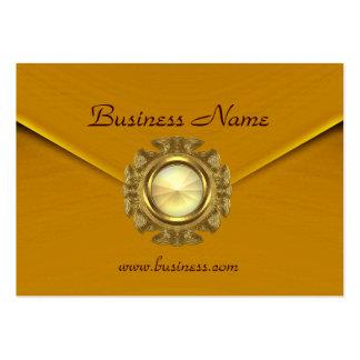 Profile Card Business Rich Velvet Mustard Jewel Business Card Templates