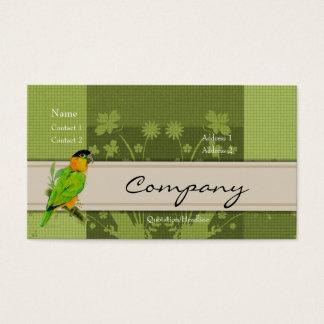 Profile Card - Caique Parrot