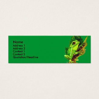 Profile Card Template - Frog