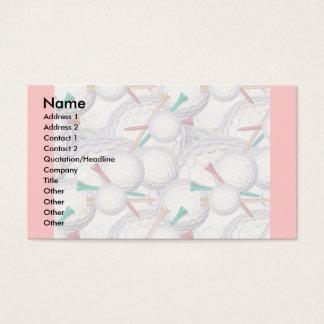 Profile Card Template - Golf