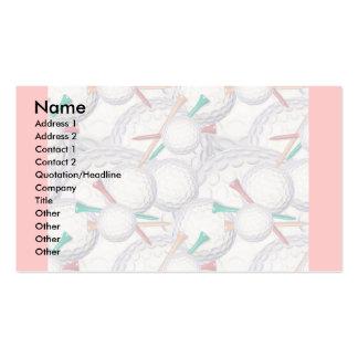 Profile Card Template - Golf Business Card
