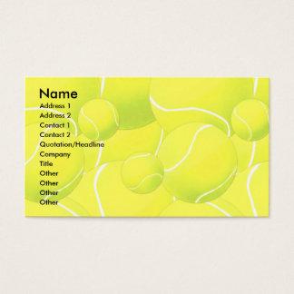 Profile Card Template - Tennis