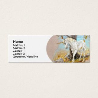 Profile Card Template - Unicorn