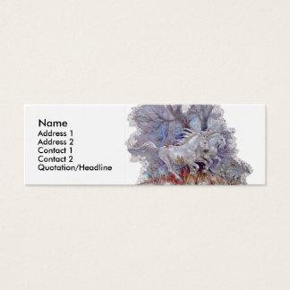 Profile Card Template - Unicorns