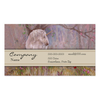 Profile Card - Unicorn Pack Of Standard Business Cards