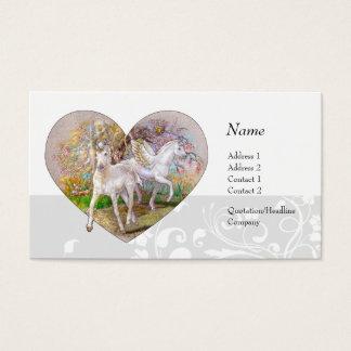 Profile Card - Unicorn Pegasus Heart